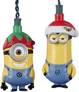Despicable Me Minion Christmas Lights