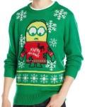 Minion Happy Holidays Ugly Christmas Sweater
