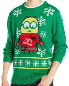 Minion Happy Holidays Ugly Christmas Sweater
