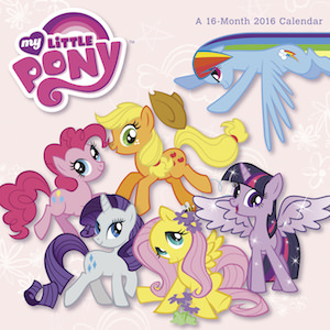 My Little Pony 2016 Wall Calendar