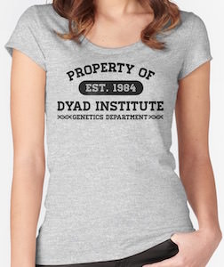 Property Of Dyad Institute T-Shirt