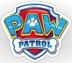 PAW Patrol Logo Sticker