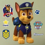 PAW Patrol Giant Chase Wall Decal