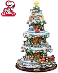Peanuts Gang Lights And Motion Christmas Tree