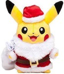 Pokemon Pikachu Christmas Plush