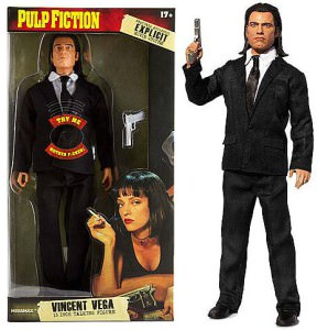 Pulp Fiction Vincent Vega Talking Action Figure