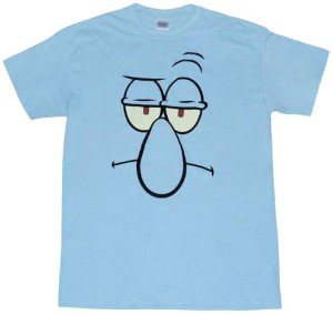 Squidward Face T-Shirt