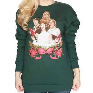 Star Wars Carolling Christmas sweater