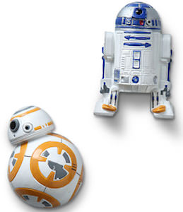 Star Wars R2-D2 And BB-8 Magnet Set