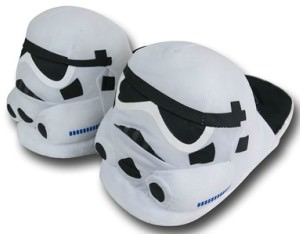 Star Wars Stormtroop Stuffie Slippers