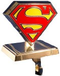 Superman Logo Stocking Holder