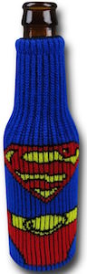 Superman Bottle Cooler Koozie