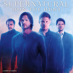 Supernatural Join The Hunt 2016 Wall Calendar