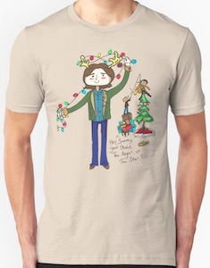 Supernatural Christmas Decorating Christmas T-Shirt