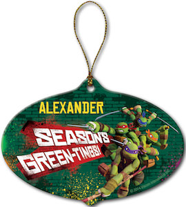 Teenage Mutant Ninja Turtles Seasons Green-Things Ornament