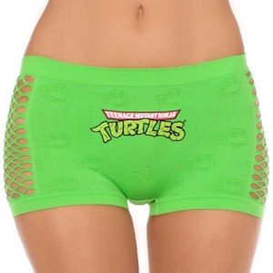Teenage Mutant Ninja Turtles Green Women's Panties