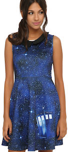 Doctor Who Tardis Galaxy Dress