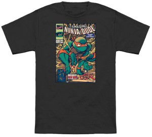 Teenage Mutant Ninja Turtle Comic Book T-Shirt