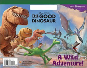 The Good Dinosaur Giant Coloring And Activity Book