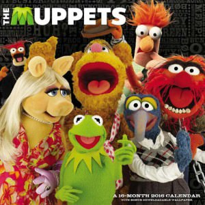 The Muppets 2016 Wall Calendar