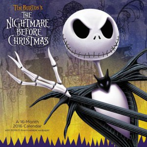 The Nightmare Before Christmas 2016 Wall Calendar