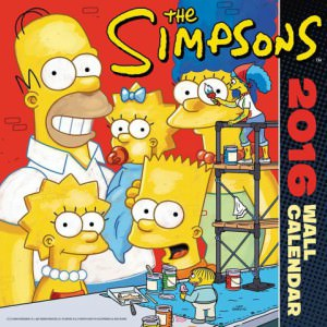 The Simpsons 2016 Wall Calendar