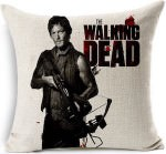The Walking Dead Daryl Dixon Throw Pillow Case