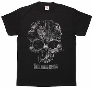 Skull Made Of Walkers T-Shirt