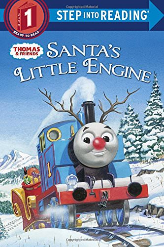 Santa's Little Engine Kids Christmas Book