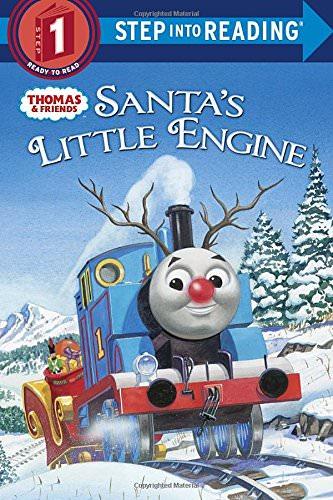 Santa's Little Engine Kids Christmas Book