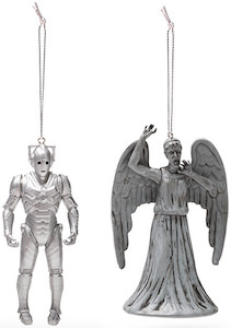 Doctor Who Villains Christmas Ornaments