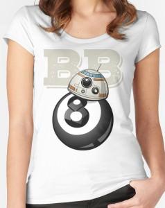Womens BB's An Eight Ball T-Shirt