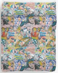 Wonder Woman Classic Comic Duvet Cover