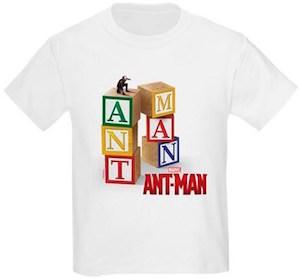 Marvel Ant-Man Blocks Kids T-Shirt
