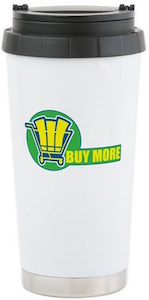 Buy More Logo Travel Mug