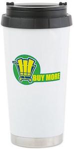 Buy More Logo Travel Mug from Chuck