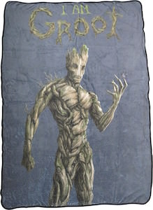 I Am Groot Fleece Blanket