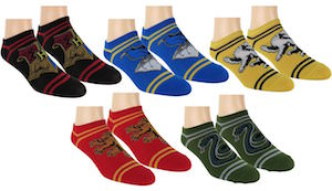 Harry Potter Hogwarts Houses Socks