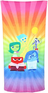 Inside Out Beach Towel