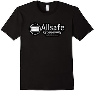 Allsafe Cybersecurity Logo T-Shirt