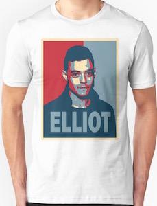 Elliot Alderson Portrait T-Shirt