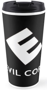 Mr. Robot Evil Corp Logo Travel Mug