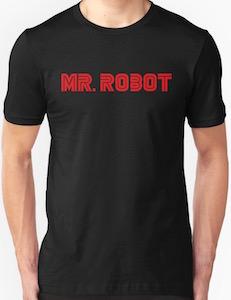Mr. Robot Logo T-Shirt