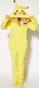 Pokemon Pikachu Onesie Pajama