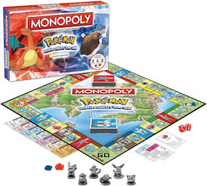 Pokemon Monopoly Kanto Edition