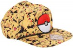 Pikachu And Poke Ball snapback hat