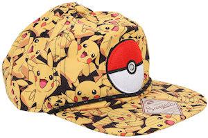 Pikachu And Poke Ball snapback hat