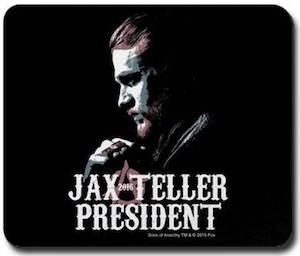 Sons Of Anarchy Jax Teller President Mousepad
