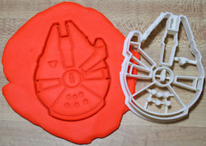 Millenium Falcon Cookie Cutter