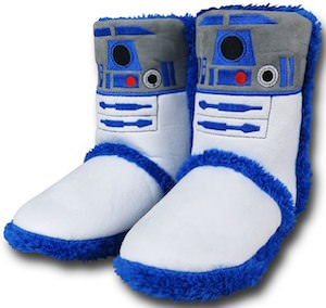Women's Star Wars R2-D2 Slippers Boots